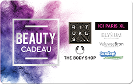 beauty cadaeu card